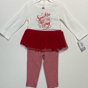 Christmas outfit baby girl.